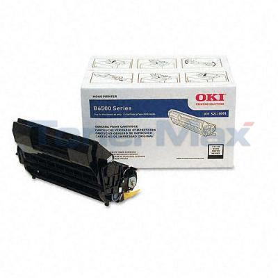 OKI B6500 SERIES TONER CARTRIDGE BLACK 11K